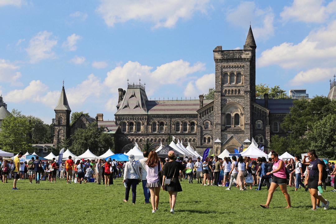 Các hoạt động thường xuyên được tổ chức tại University of Toronto